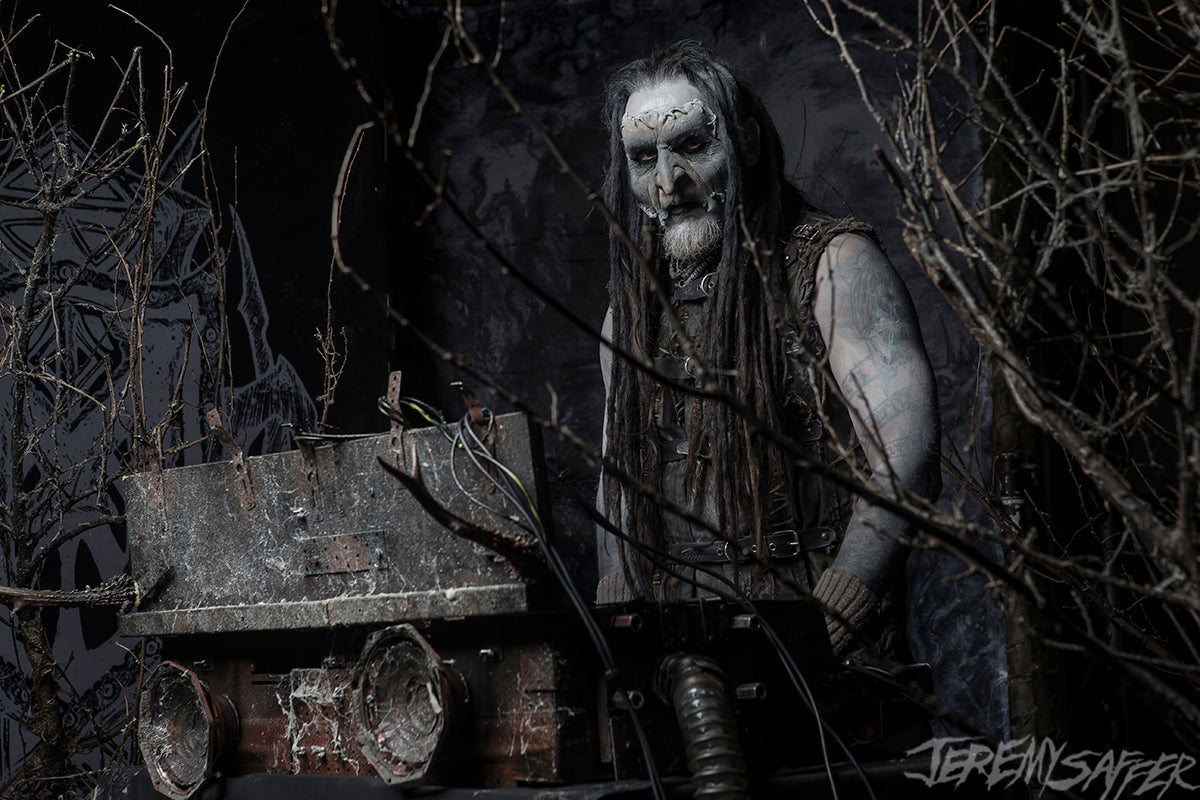 Mortiis - On Stage - limited edition metallic 8x12 print