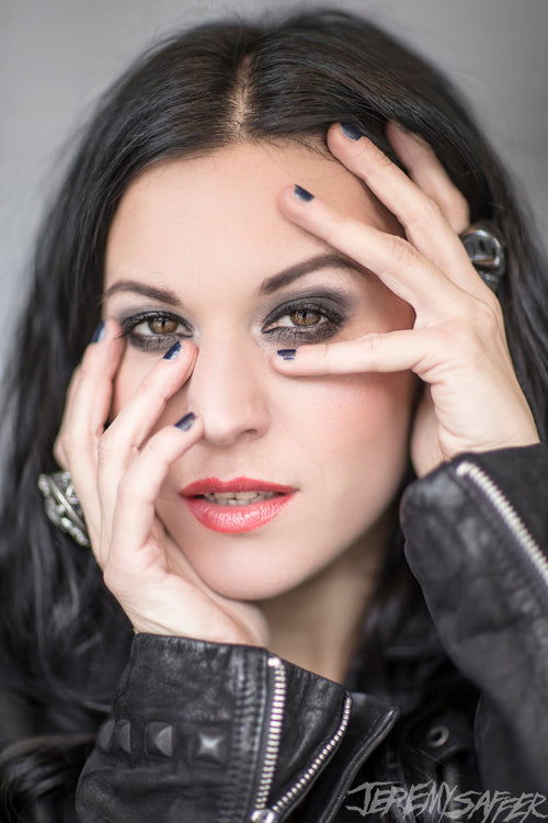 Cristina Scabbia - Peek - Signed Limited Edition Metallic 4x6 Print