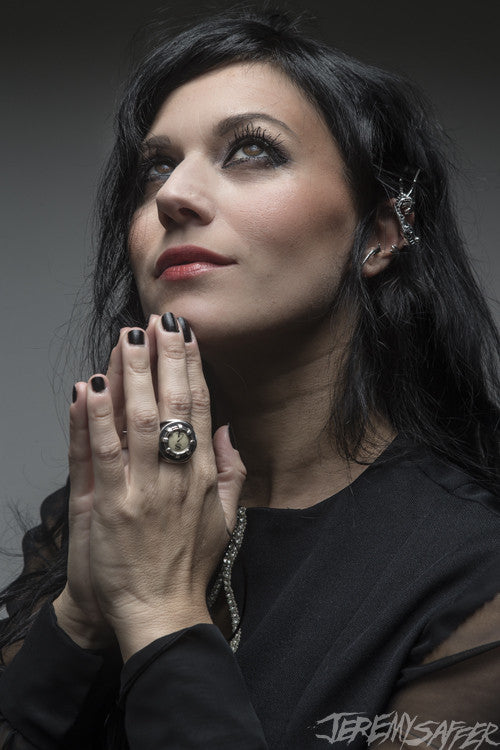 Cristina Scabbia - Prey - limited edition metallic print