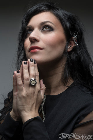 Cristina Scabbia - Pray - Signed Limited Edition Metallic 4x6 Print