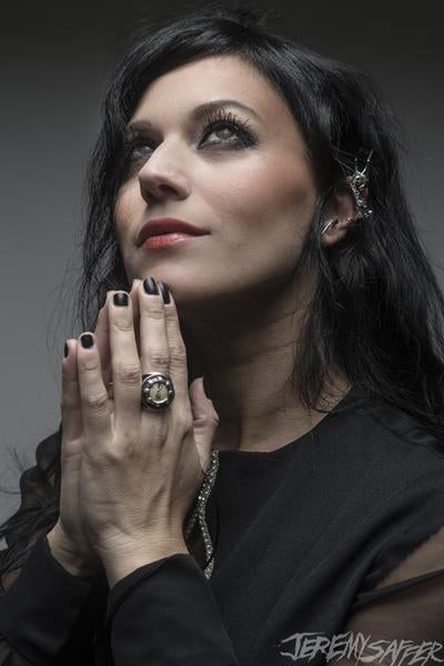 Cristina Scabbia - Pray - Metallic Mini-Print