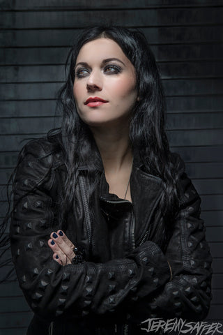 Cristina Scabbia - Dark - Metallic Mini Print