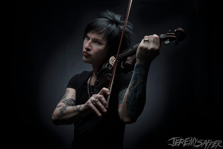 Jinxx - Strings - signed limited edition 8x12 metallic print