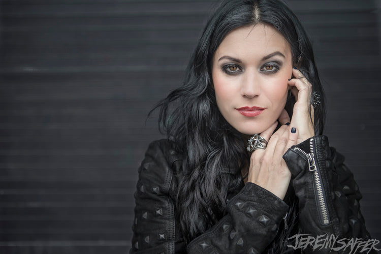 Cristina Scabbia - 2013 - Signed Limited Edition Metallic 4x6 Print