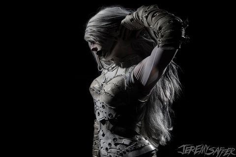 Alissa White-Gluz - Natural Light - Metallic Mini Print