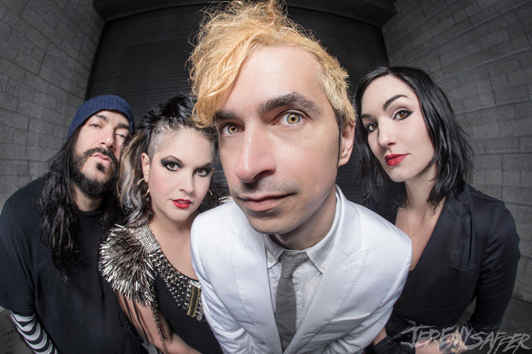 Mindless Self Indulgence - Fisheye - Metallic Mini-Print