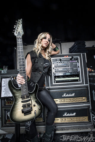 Nita Strauss - The Rig - Signed Limited Edition Metallic Print