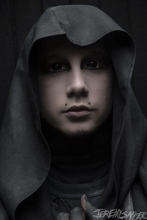Josh Balz - Dark Portrait 2 - metallic mini print