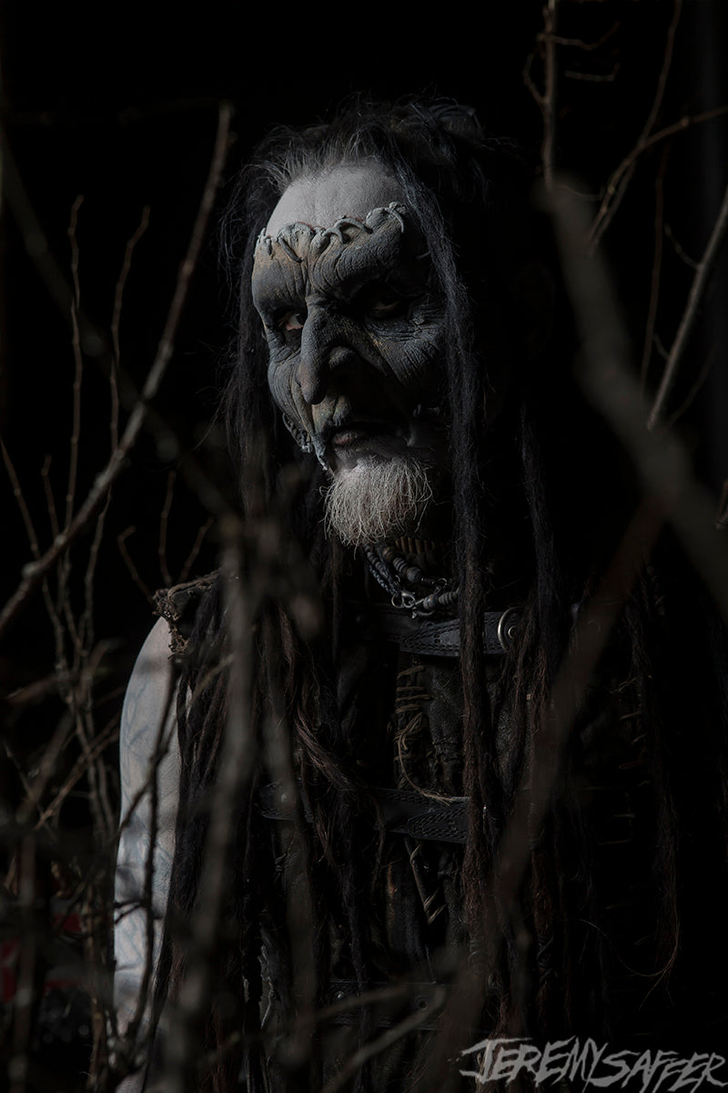 Mortiis - Dark Woods 2 - limited edition metallic 8x12 print
