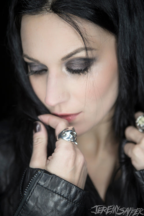 Cristina Scabbia - Soft - Signed Limited Edition Metallic 4x6 Print (3 LEFT!)