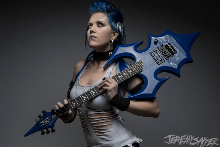 Alissa White-Gluz - Abominator - Signed Metallic Mini Print (4 LEFT!)