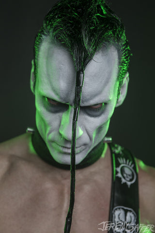 Doyle Wolfgang Von Frankenstein - Green Light - Signed limited edition metallic 8x12