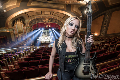 Nita Strauss - Theater - Signed Limited Edition Metallic Print