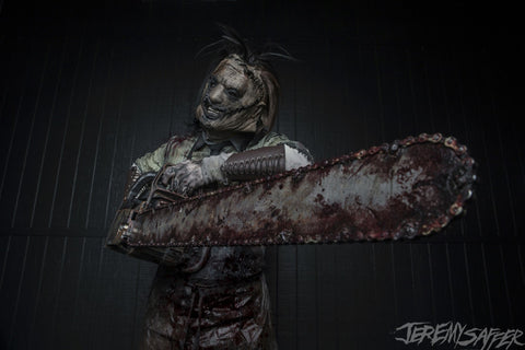 Ghost - Leatherface - Signed limited edition 8x12 (only 5 available)