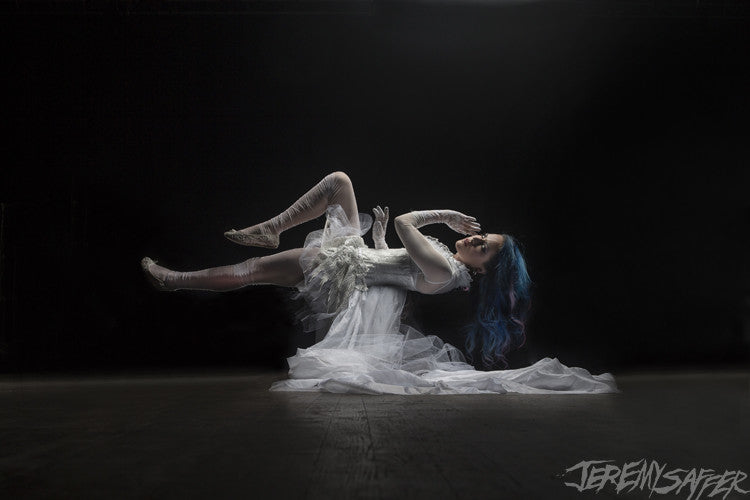 Alissa White-Gluz - Ethereal - Signed Metallic Mini Print (4 left!)