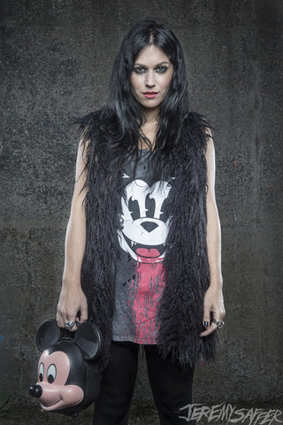 Cristina Scabbia - Mouse - Signed limited edition metallic print