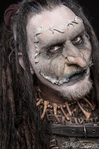 Mortiis - Portrait 1 - limited edition metallic 8x12 print (4 LEFT!)