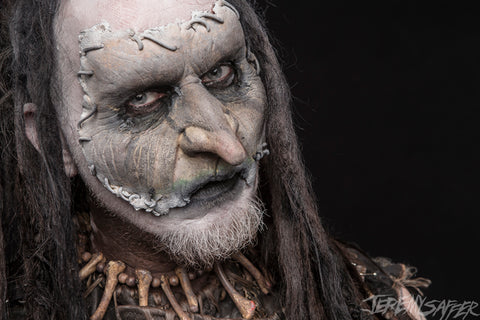 Mortiis - Portrait 2 - limited edition metallic 8x12 print (5 LEFT!)