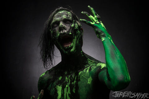 Wednesday 13 - Slime 2 - limited edition metallic 8x12 print