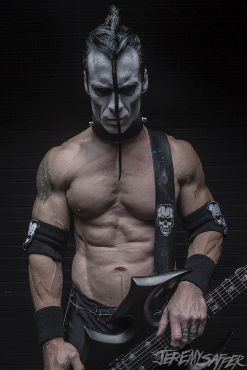 Doyle Wolfgang Von Frankenstein - Icon - Signed limited edition metallic 8x12