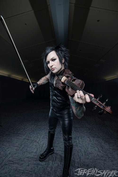 Jinxx - Death Perception - signed limited edition 8x12 metallic print