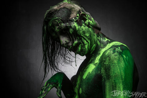 Wednesday 13 - Slime 1 - limited edition metallic 8x12 print