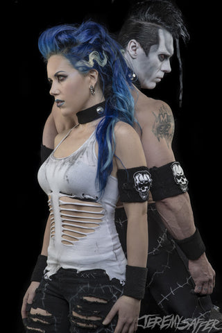 Doyle and Alissa - Got Your Back - Metallic Mini Print