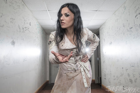 Cristina Scabbia - Welcome - Signed Limited Edition Metallic Print