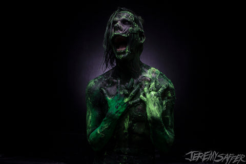 Wednesday 13 - Slime 3 - limited edition metallic 8x12 print