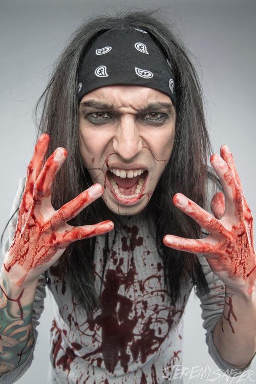 Christian Coma - Blood On My Hands - Signed Limited Edition 8x12 Metallic Print