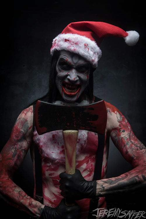 Wednesday 13 - Silent Night - signed limited edition 8x12 metallic print (2 available)