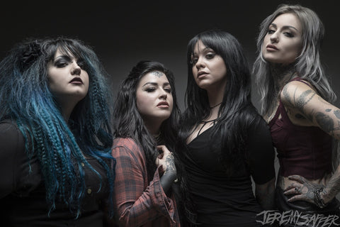 Ladies of Ink Master - 04 - limited edition metallic print (LAST ONE!)