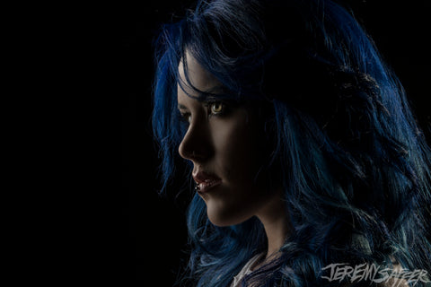Alissa White-Gluz - Portrait - Signed Metallic Mini Print