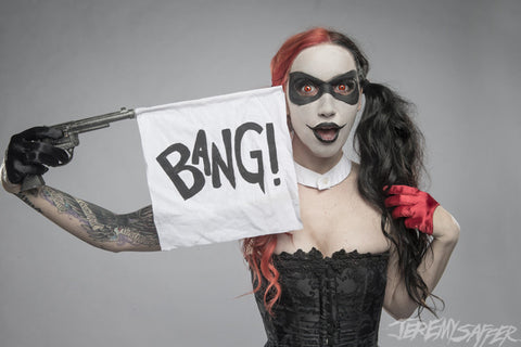 Ash Costello - Harley bangbang - Metallic Mini-Print