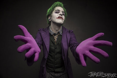 Nikki Misery - Joker - Signed Metallic Mini-Print