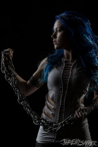 Alissa White-Gluz - Enemy - Signed Limited Edition Metallic Mini Print (3 LEFT!)