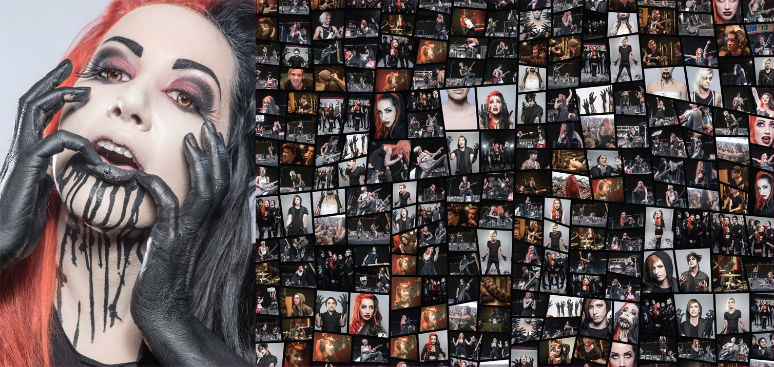 Ash Costello / New Years Day Double Sided Poster ($4)