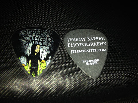 Saffer halloween color guitar pick