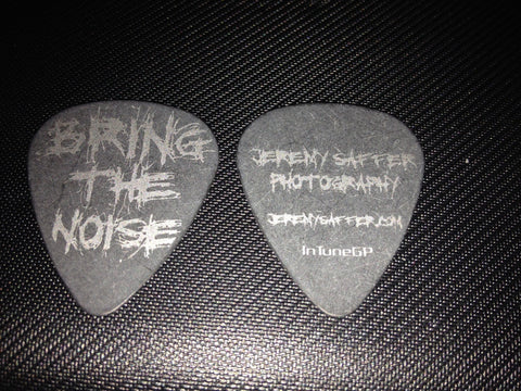 Bring The Noise Guitar Pick