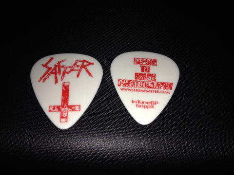Saffer Death To False Photography Guitar Pick