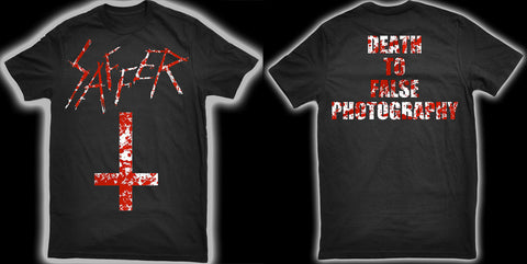 Jeremy Saffer - Death to false photography shirt
