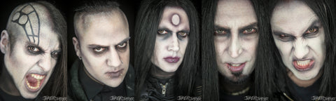 Wednesday 13 - Ringlight Solos - limited edition metallic print set (2 sets left!)