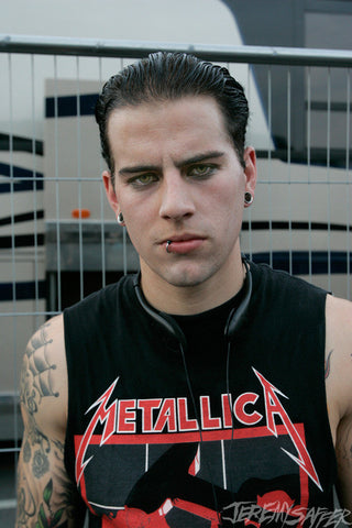 M. Shadows - Metallic Mini-Print