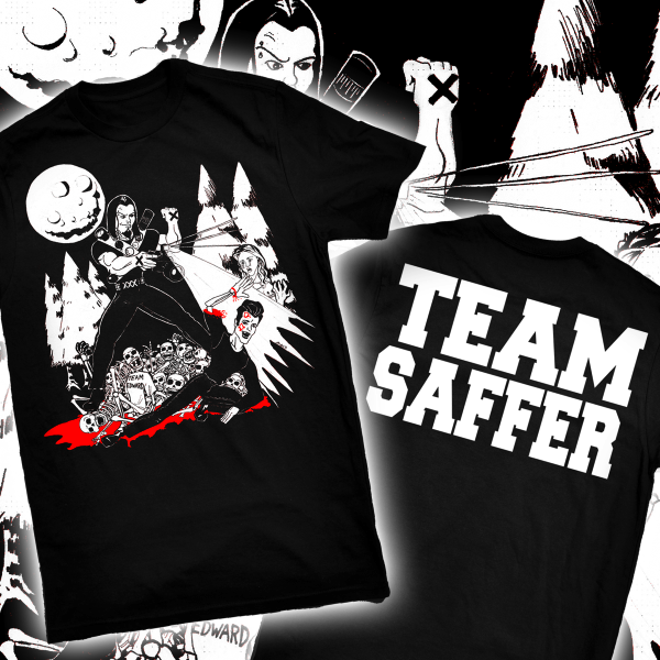 Team Saffer t-shirt (Black Friday)