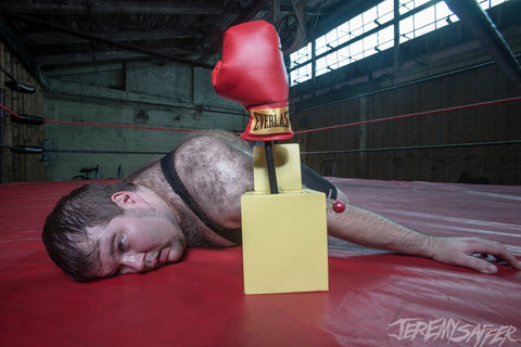 Adriangale - Sucker Punch! cover shot - signed limited edition 8x12 metallic print