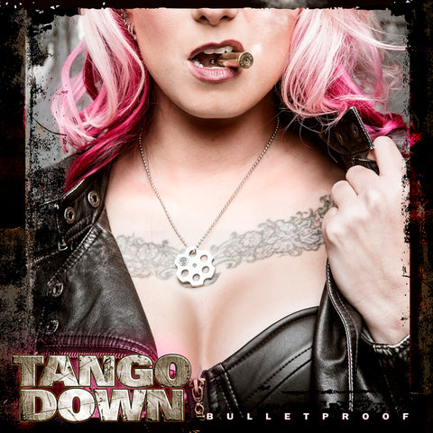 Tango Down - Bullet Proof Cover art - signed limited edition metallic print