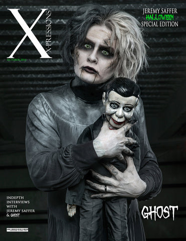 Xpressions Magazine: Halloween 2014 - Jeremy Saffer/ Ghost
