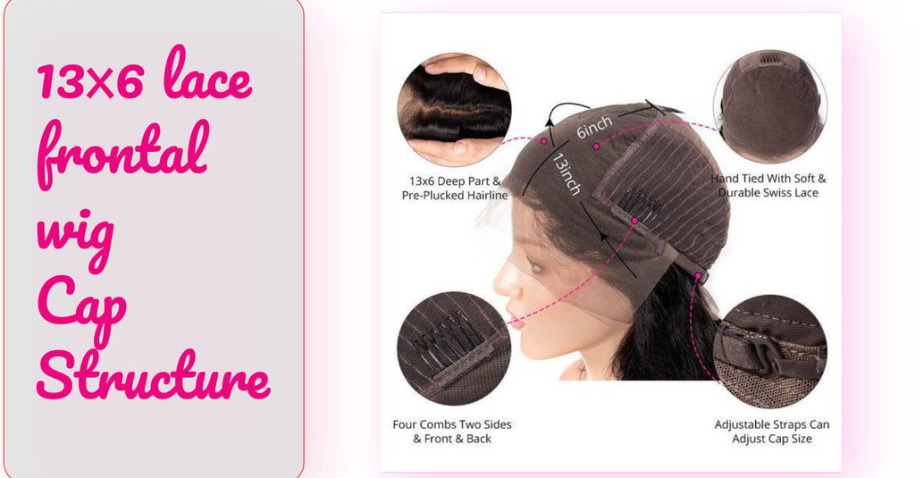 13x6 lace frontal wig Cap Structure