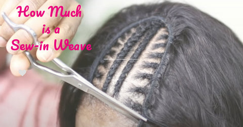 how much is a sew in weave