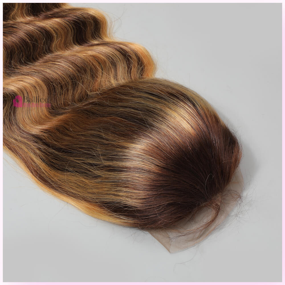Products Ombre Highlight 13x4 Transparent Lace Wig Body Wave